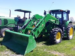 Tractor For Sale 2016 John Deere 6120M Cab