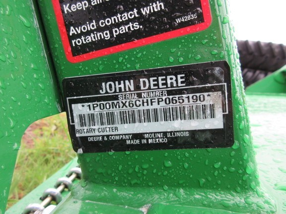 Photos of 2016 John Deere MX6 Rotary Cutter For Sale