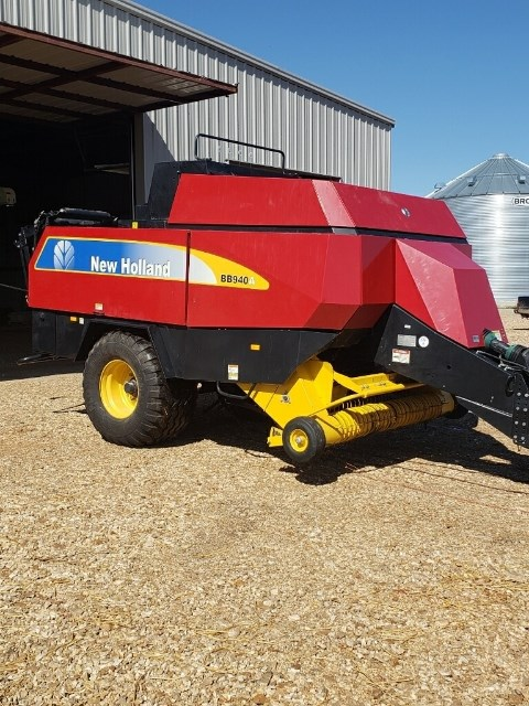 2008 New Holland BB940A Baler-Big Square For Sale