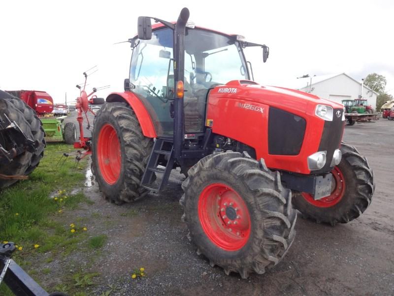 2015 Kubota M126GXDTC Tractor For Sale