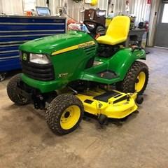 Riding Mower For Sale 2012 John Deere X749 , 24 HP