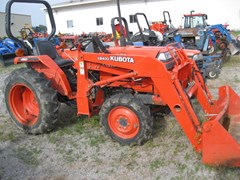Tractor For Sale 1999 Kubota L2500DT , 27 HP