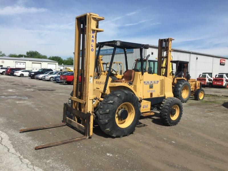 2008 Harlo HP6500 Lift Truck/Fork Lift-Rough Terrain For Sale