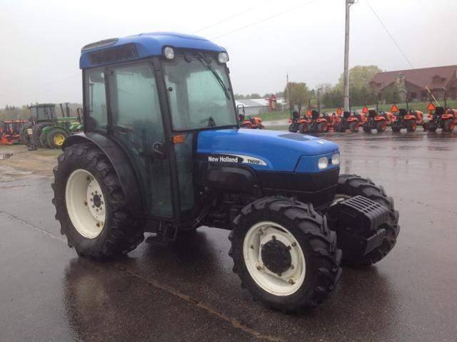 2007 New Holland TN95FA Tractor For Sale