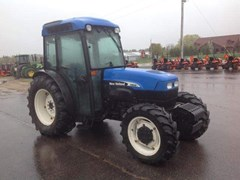 Tractor For Sale 2007 New Holland TN95FA , 91 HP