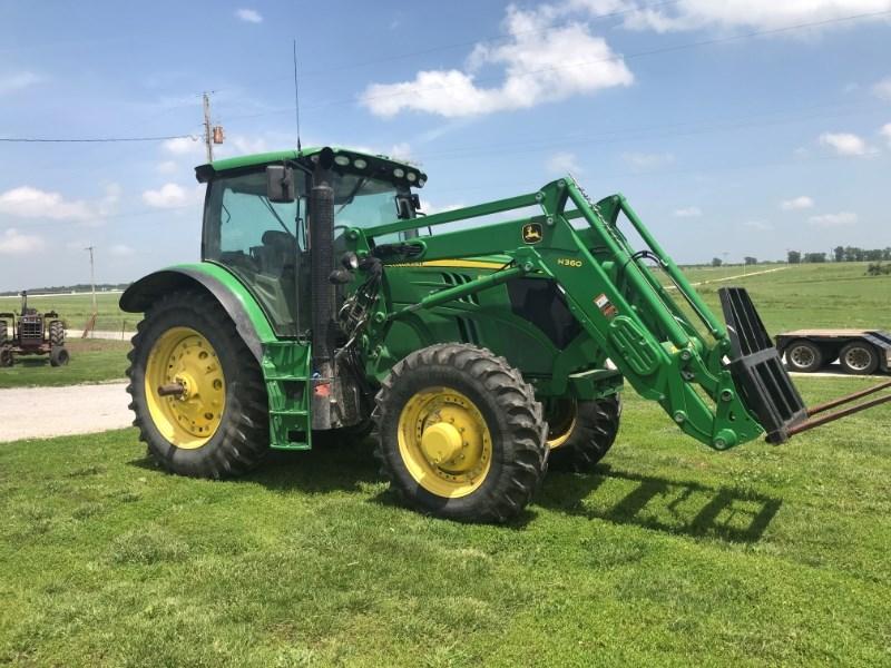 2013 John Deere 6150R Tractor For Sale