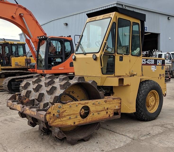 Caterpillar CS433B Compactor For Sale