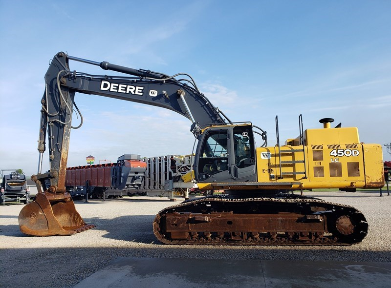 2008 John Deere 450D Excavator For Sale