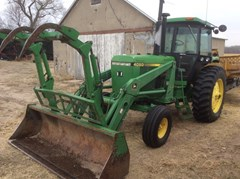 Tractor For Sale 1988 John Deere 4050 , 100 HP