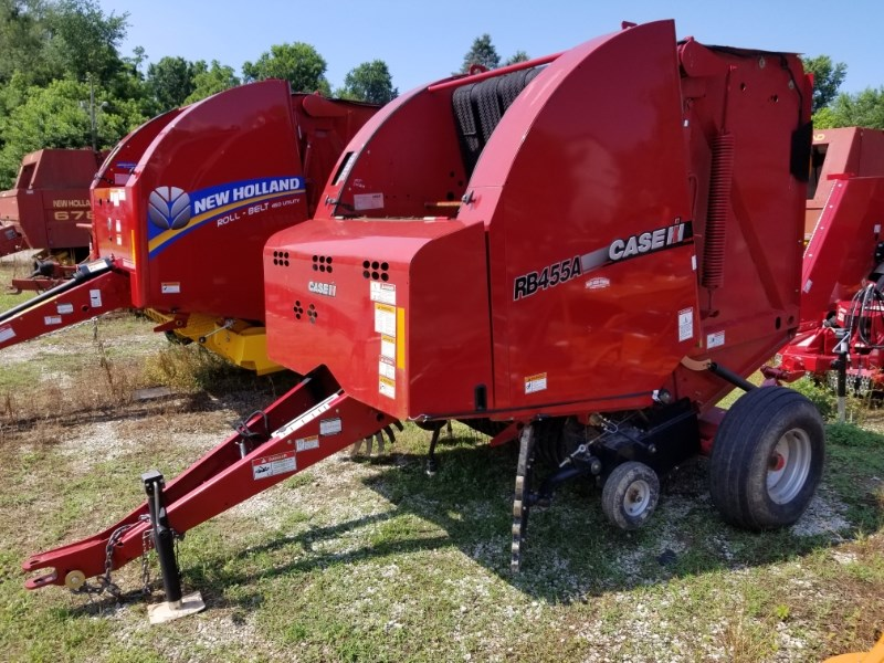 2015 Case IH RB455A Baler-Round For Sale