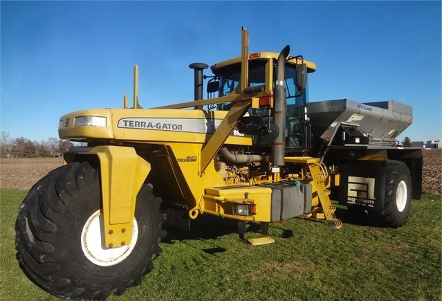 2002 Ag Chem 8103 Floater/High Clearance Spreader For Sale