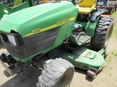 Tractor - Compact Utility For Sale 2005 John Deere 4115 , 24 HP