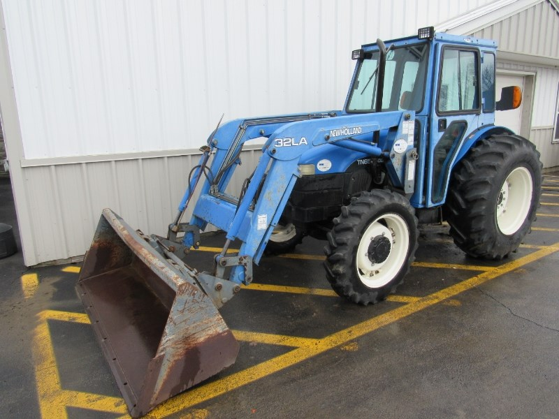 2002 New Holland TN65 Tractor For Sale