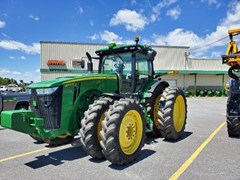 Tractor For Sale:  2015 John Deere 8370R , 370 HP