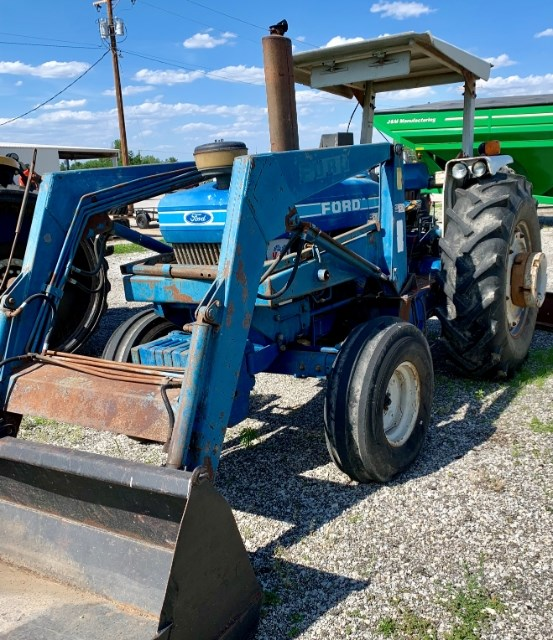 Ford 7610 Tractor For Sale