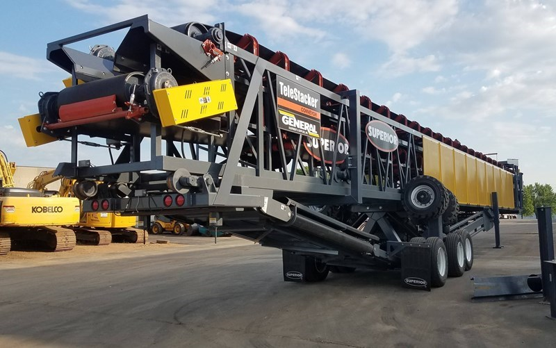 2019 Superior 42X150TSFD Conveyor - Stacking For Sale