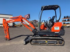 Excavator-Track :  Kubota KX71