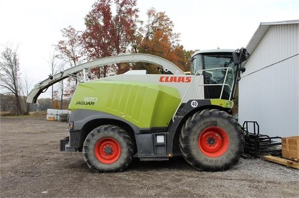 2015 CLAAS JAGUAR 970 Forage Harvester-Self Propelled For Sale