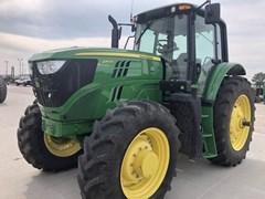 Tractor - Row Crop For Sale 2018 John Deere 6155M , 155 HP