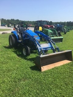 Tractor For Sale 2002 New Holland TC40 , 40 HP