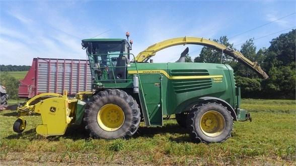 2013 John Deere 7480 Forage Harvester-Self Propelled For Sale
