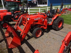 Tractor - Compact For Sale 2001 Kubota B2910HSD , 30 HP
