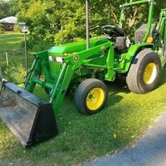 Tractor For Sale 1993 John Deere 770 , 23 HP
