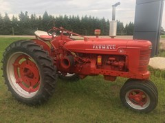 Tractor For Sale 1941 Farmall H , 24 HP