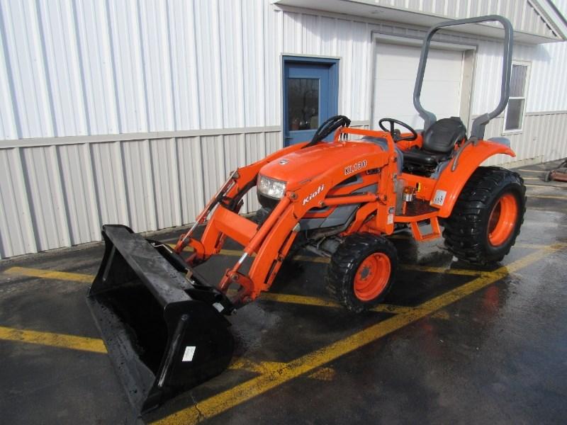 2004 Kioti CK25 Tractor For Sale