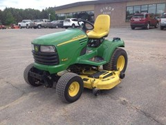 Riding Mower For Sale 2002 John Deere X485 , 25 HP