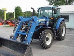 Tractor For Sale 2017 New Holland T4.110 , 110 HP