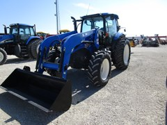 Tractor For Sale 2015 New Holland T6.145 , 116 HP