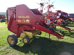 Baler-Round For Sale New Holland 638