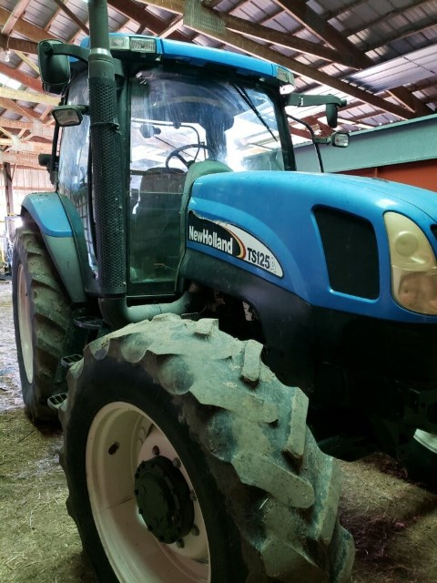2007 New Holland TS125A Tractor For Sale