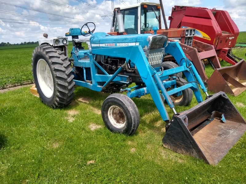 1973 Ford 5000 Tractor For Sale