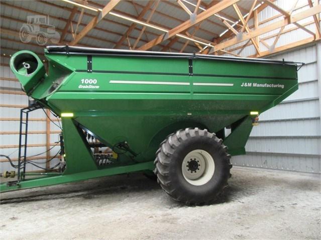 2010 J & M 1000-20 Grain Cart For Sale
