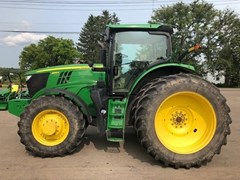 Tractor - Row Crop For Sale 2016 John Deere 6195R , 195 HP