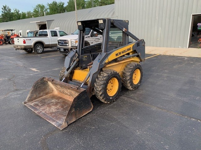 2007 New Holland LS170 Skid Steer For Sale
