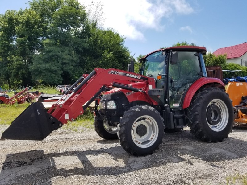 2013 Case IH F75C MFD CAB LDR Tractor For Sale