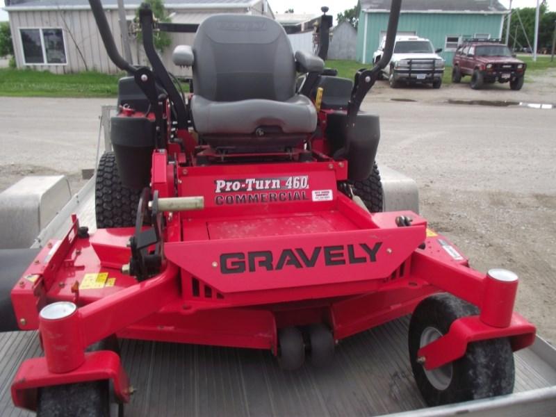 2014 Gravely PT460 Zero Turn Mower For Sale