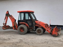 Loader Backhoe For Sale 2007 Kubota L39 , 39 HP