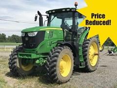 Tractor - Row Crop For Sale 2018 John Deere 6215R , 215 HP