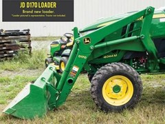 Front End Loader Attachment For Sale 2014 John Deere D170