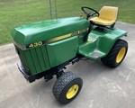 Riding Mower For Sale1984 John Deere 430, 20 HP