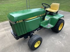 Riding Mower For Sale 1984 John Deere 430 , 20 HP