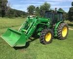 Tractor For Sale2017 John Deere 6105E, 105 HP