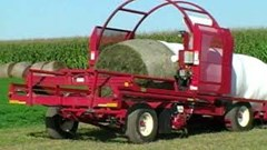 Bale Wrapper For Sale:  H & S LW 1100