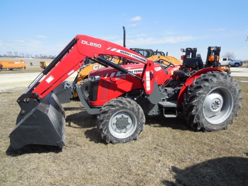2012 Massey Ferguson 2615 Tractor For Sale