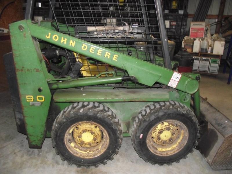 John Deere 90 Skid Steer For Sale