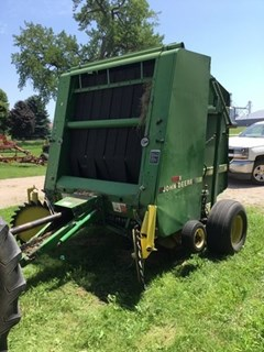 Baler-Round For Sale 1991 John Deere 535
